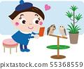 Bird Cafe 6(貓頭鷹和女孩) 55368559