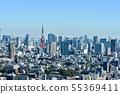 도쿄 도시 이미지 55369411