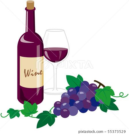 레드 와인 55373529