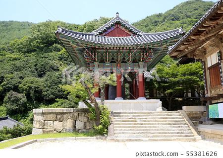 한국풍경, 전남 구례, 화엄사,  55381626