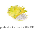 whole and portion cut fresh dragon yellow shell 55389391