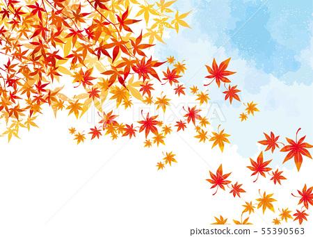 秋葉背景材料 55390563