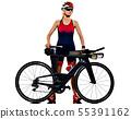 Bicycle, bike, Woman 55391162