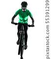 bike, Cyclist, Mountain 55391299