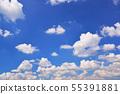 ちぎれ雲 푸른 하늘 55391881
