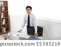 비즈니스맨,사무실 55393216