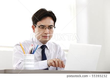 비즈니스맨,사무실 55393232