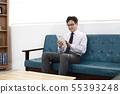 비즈니스맨,사무실 55393248