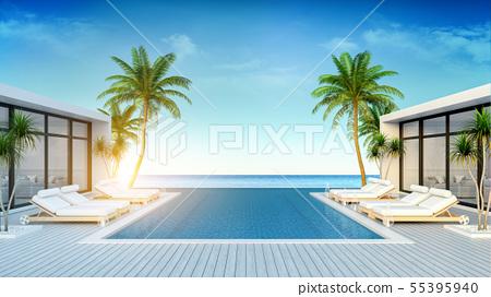 A Modern Villa ,beach lounge, sun loungers 55395940