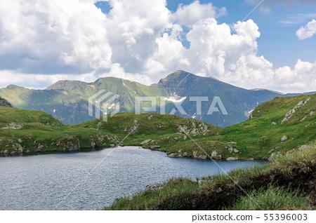 alpine glacier capra of fagaras mountains 55396003