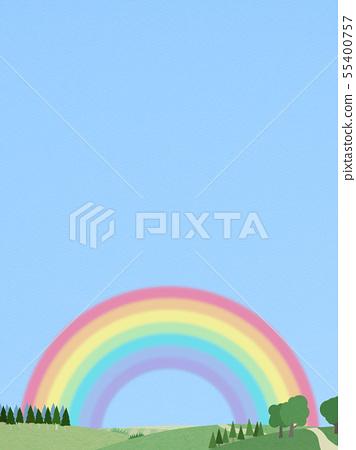 背景 - 天空 - 彩虹 - 景觀 55400757