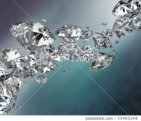 abstract background with diamonds 55403244