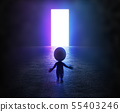 3d small people - portal 55403246