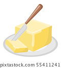 Butter oil Icon. Oil, Fat, Food label, logo for 55411241