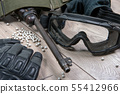 airsoft gun with protective glasses and lot of 55412966