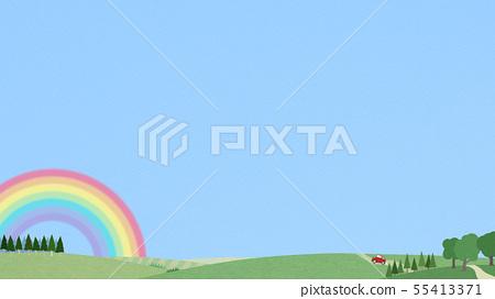 背景 - 天空 - 彩虹 - 景觀 55413371