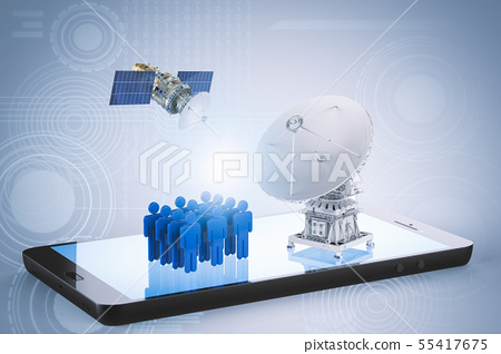 social network communication 55417675