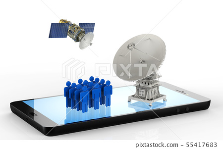 social network communication 55417683