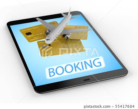 online booking concept 55417684