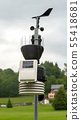 small weather station in the countryside 55418681