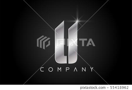 alphabet letter U logo company icon design 55418962