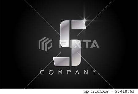 alphabet letter S logo company icon design 55418963
