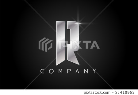 alphabet letter R logo company icon design 55418965