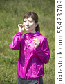 여성 스포츠 무선 이어폰 bluetooth 55423709