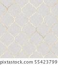 Abstract geometric seamless pattern. Oriental 55423799