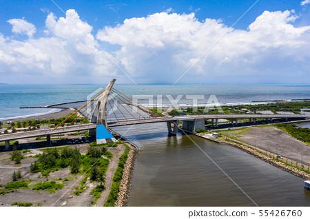 臺灣屏東大鵬灣跨海大橋Asia Taiwan Pingtung Bridge 55426760