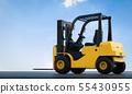 forklift truck outdoor 55430955