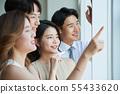 男性和女性的業務團隊 55433620