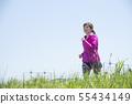 여성 런닝 하늘 빠져 55434149
