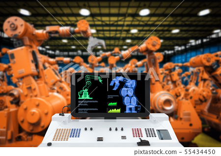 automation industry concept 55434450