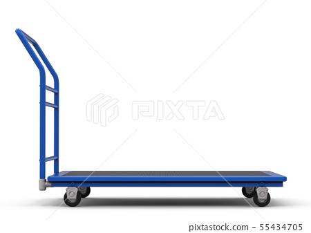 warehouse trolley or platform trolley 55434705