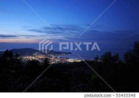 Otaru city night view from Masuyama Observatory 55435548