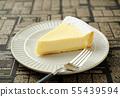 구운 치즈 케이크 55439594