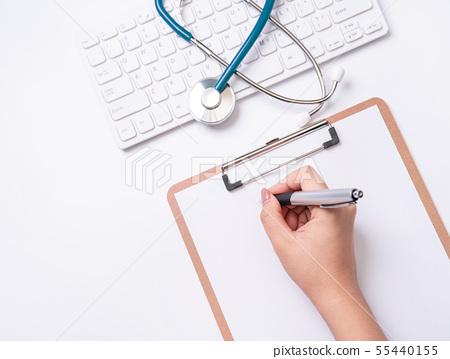 의사 청진기 의료 가기보기 의사 평평한 청진 의사 55440155
