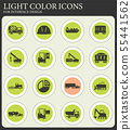 Industrial simply icons 55441562