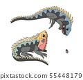 vector cartoon animal clip art 55448179