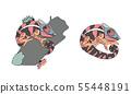 vector cartoon animal clip art 55448191