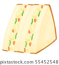 與耳朵的三明治Potesara沙子 55452548