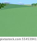 배경 - 초원 - 하늘 - 풍경 55453941