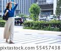 หญิงธุรกิจ 55457438