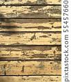 剝落油漆的木材 55457660