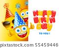 Happy Birthday Greeting Card 55459446