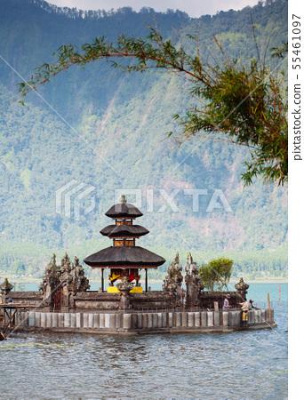 Ulun Danu temple Beratan Lake in Bali, Indonesia 55461097