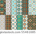 Ethnic national seamless patterns 55461685