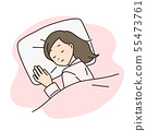 女人睡覺睡覺 55473761