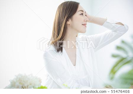 美女形象 55476408